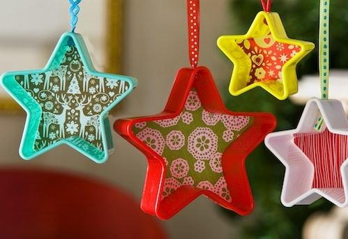 Quick Dollar Store Cookie Cutter Ornaments