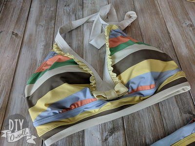 How to Convert a One Piece Swim Suit to a Two Piece