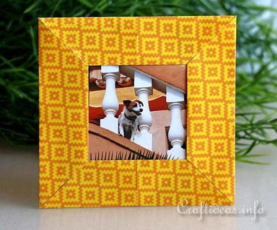 Easy Origami Picture Frame Craft