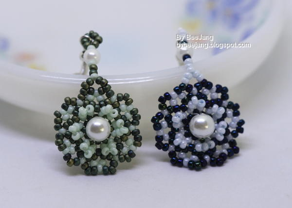 Elloth Beaded Earrings Tutorial