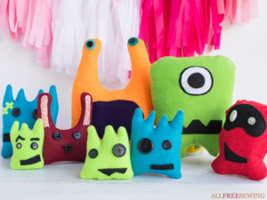 Kid-Friendly Felt Monster Patterns