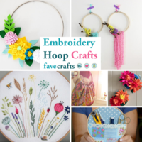 16 Embroidery Hoop Crafts