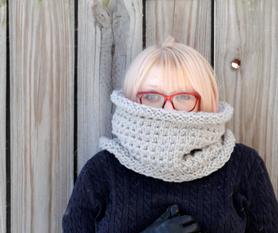 b8c50c9a4e787 28 Killer Knit Cowl Patterns