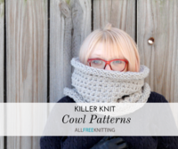 42 Killer Knit Cowl Patterns