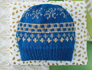 Fair Isle Knit Hat Pattern