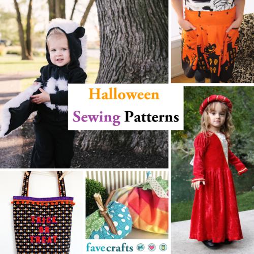 92e26b00336c 27 Halloween Sewing Patterns | FaveCrafts.com