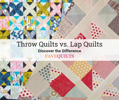 What is the Difference Between a Throw and Lap Quilt Pattern