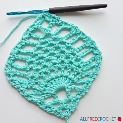 Crochet Pineapple Stitch Tutorial