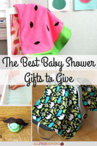 The Best Baby Shower Gifts to Give: 16 Unique DIY Baby Shower Gifts
