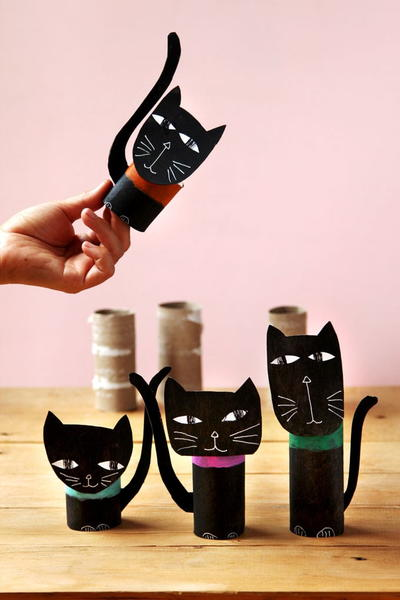 Wickedly Fun Black Cat Halloween Decorations