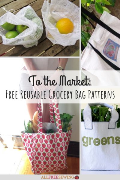 14 Reusable Grocery Bag Patterns Allfreesewing