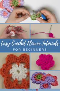 3+ Easy Crochet Flower Tutorials for Beginners