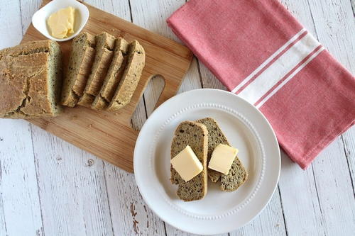 Easy Almond Flax Keto Bread Recipe