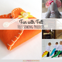 Fun with Felt: 25 Felt Sewing Projects