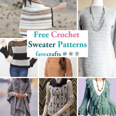 b50fb1dbc 34 Free Crochet Sweater Patterns