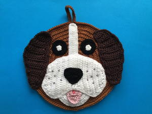 Crochet Dog Potholder
