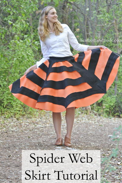 Spider Web Skirt Tutorial