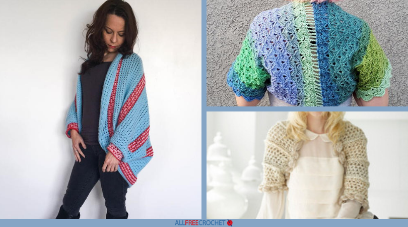 9a0d1d37ba13 42 Free Crochet Shrug Patterns