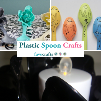 17 Plastic Spoon Crafts