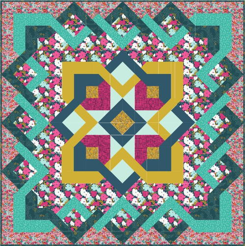 Coquet Bed Quilt Pattern
