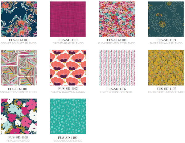 Splendid Fusion Fabric Collection