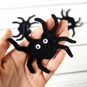 Crochet Heart Shaped Spider