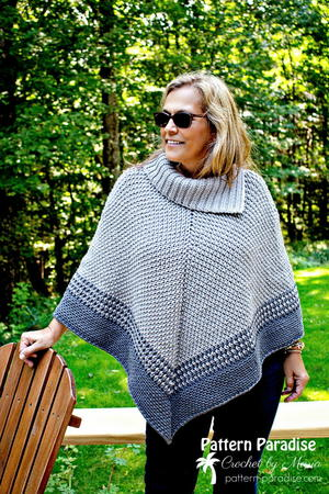 65+ Crochet Poncho Patterns | AllFreeCrochet com