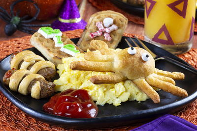 Spook-tacular Halloween Breakfast
