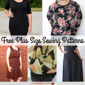 image about Free Printable Plus Size Sewing Patterns named AllFreeSewing - 100s of Absolutely free Sewing Types