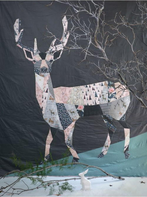 Woodland Deer Quilt Pattern