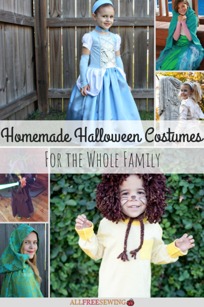 25 Homemade Halloween Costumes For The Whole Family