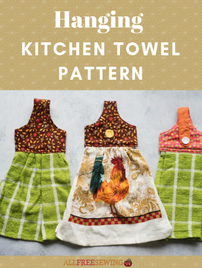Hanging Kitchen Towel Pattern
