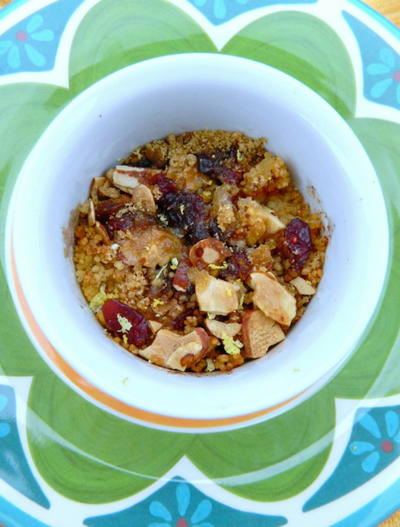 Fruit and Nut Couscous