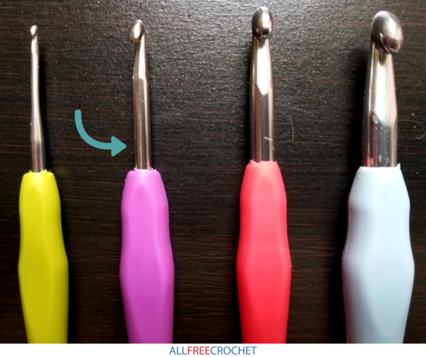 How to Measure a Crochet Hook