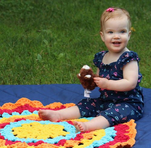 Mandala Toddler Mat