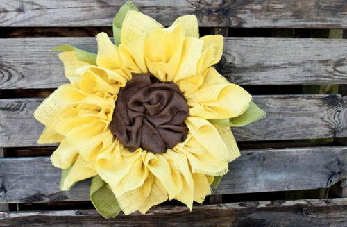 Burlap Sunflower Wreath_1