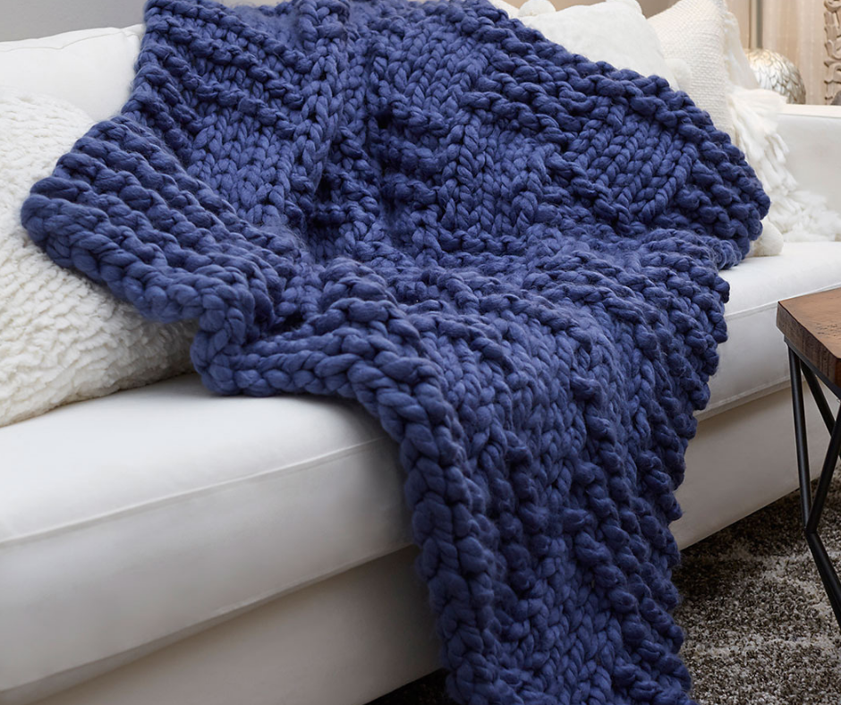 13 Knitted Blankets And Throws For Beginners Allfreeknitting Com