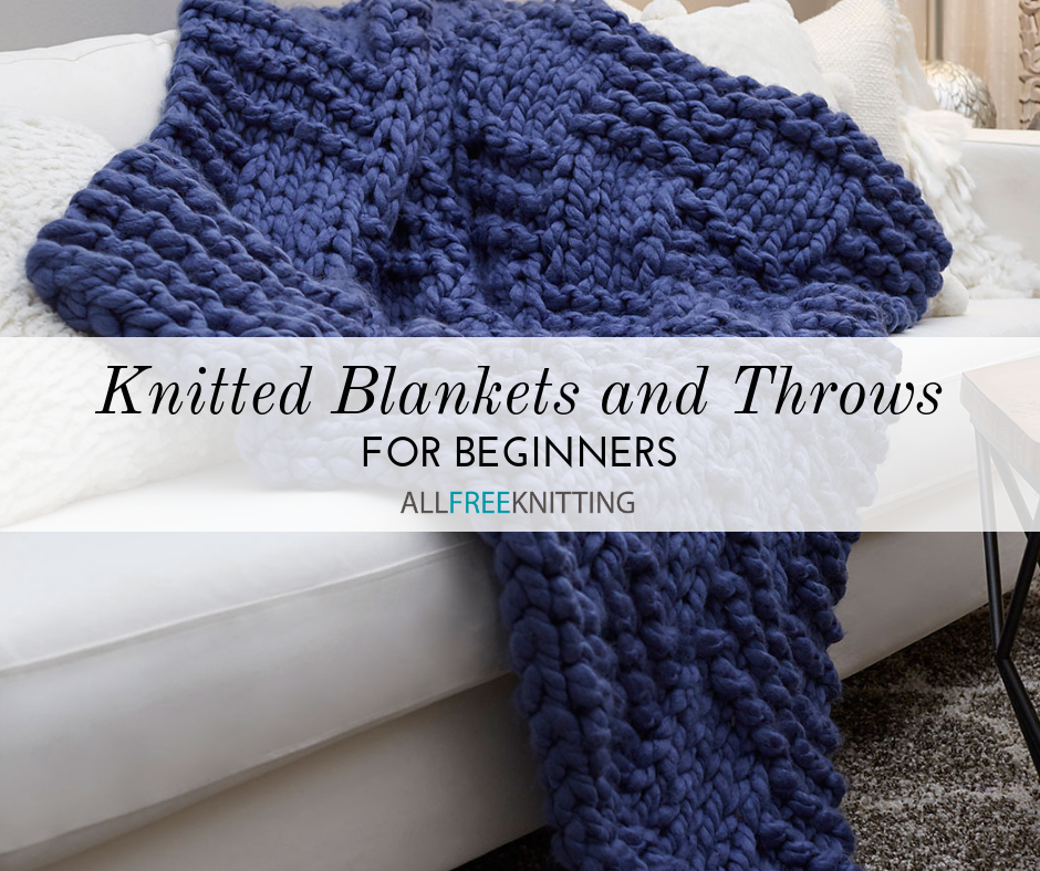 free knitted blanket patterns for beginners
