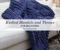 13 Knitted Blankets and Throws for Beginners