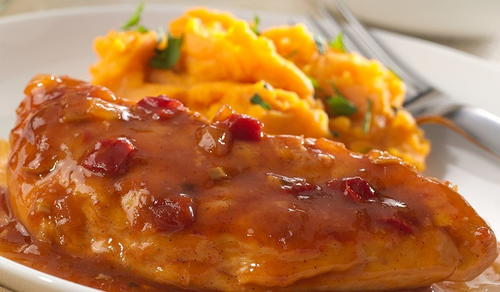 Southern Apple Bourbon Kickin Chicken
