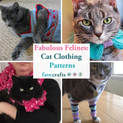 Fabulous Felines 15 Cat Clothing Patterns