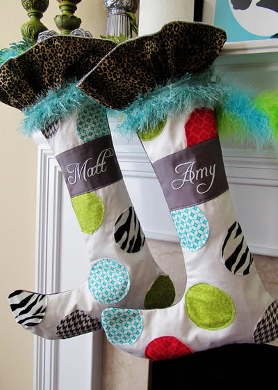 Whimsical Christmas Stocking Pattern