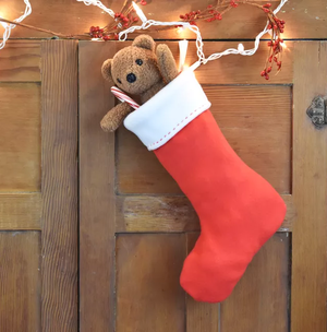 Free Pattern and Directions to Sew a Christmas Stocking