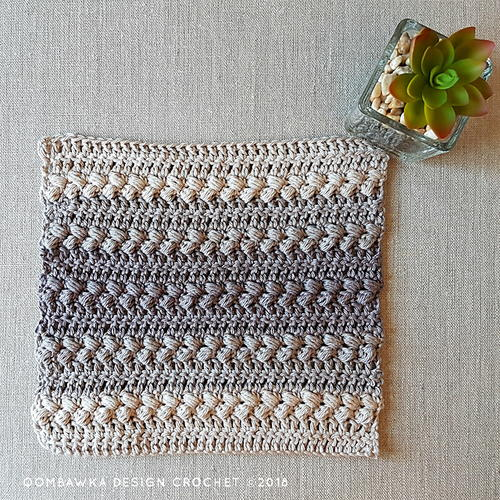 Elegant Washcloth Pattern