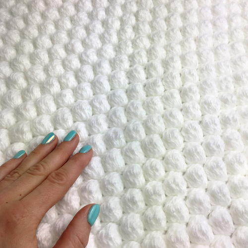 Bobble Stitch Blanket Crochet Pattern