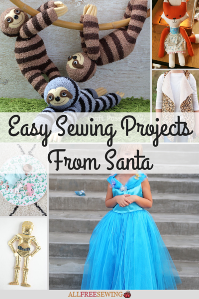61 Easy Sewing Projects from Santa