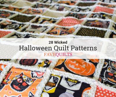 28 Wicked Halloween Quilt Patterns