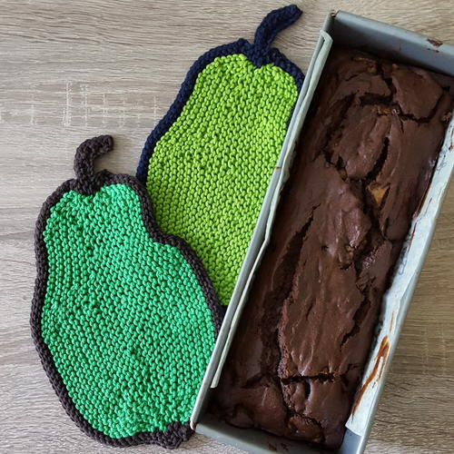 Pear Potholders