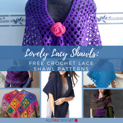 6423e2ec92490 Lovely Lacy Shawls  30+ Free Crochet Lace Shawl Patterns ...