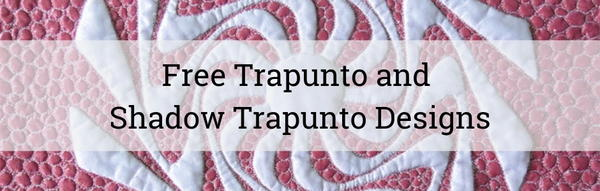 Free Trapunto and Shadow Trapunto Designs